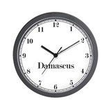 Damascus Classic Newsroom Wall Clock