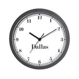 Dallas Classic Newsroom Wall Clock