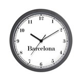 Barcelona Classic Newsroom Wall Clock