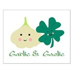 Garlic & Gaelic Small Poster