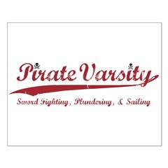 Pirate Varsity Small Poster