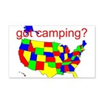 got camping? 22x14 Wall Peel