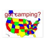 got camping? Postcards (Package of 8)