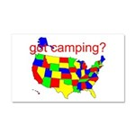 got camping? Car Magnet 20 x 12