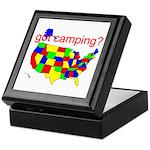 got camping? Keepsake Box