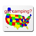 got camping? Mousepad