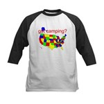 got camping? Kids Baseball Jersey
