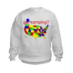 got camping? Kids Sweatshirt