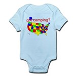 got camping? Infant Bodysuit