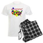 got camping? Men's Light Pajamas