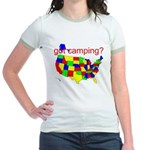 got camping? Jr. Ringer T-Shirt