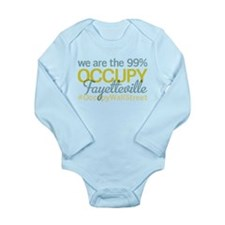 Occupy Fayetteville Long Sleeve Infant Bodysuit