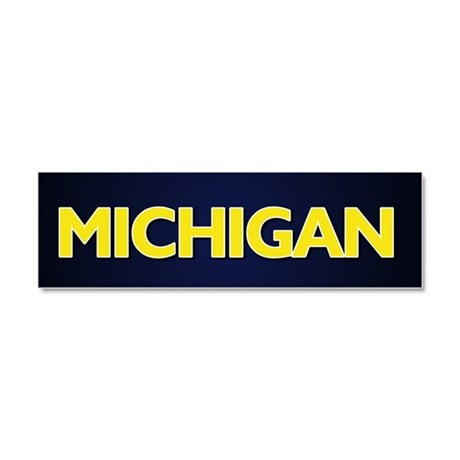 Michigan Car Magnet 10 x 3