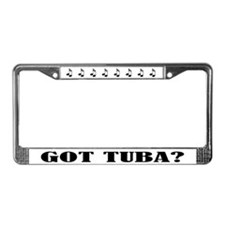 Got Tuba Music License Plate Frame