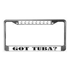 Got Tuba Music License Plate Frame