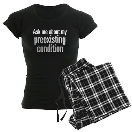 Preexisting Condition Women's Dark Pajamas