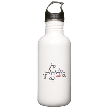 Woody molecularshirts.com Stainless Water Bottle 1