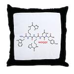 Woody molecularshirts.com Throw Pillow