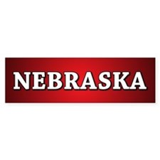Nebraska Bumper Bumper Sticker