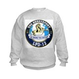 USS Shreveport LPD 12 Sweatshirt