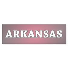 Arkansas Bumper Bumper Sticker