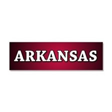 Arkansas Car Magnet 10 x 3