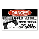 Unique 4 wheel drive Decal