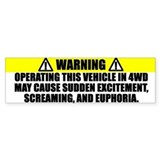 4WD Operating Warning
