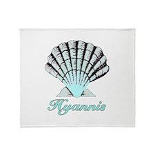 Hyannis Shell Throw Blanket