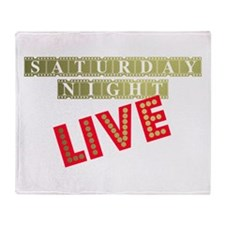 Saturday Night Live Film Throw Blanket