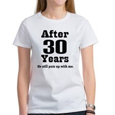 30th Anniversary Funny Quote Tee