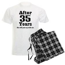 35th Anniversary Funny Quote Pajamas