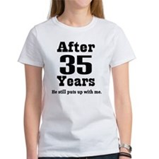 35th Anniversary Funny Quote Tee