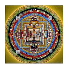 Kalchakra Mandala Tile Coaster