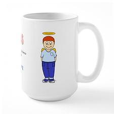 """""""Colten"""" Logo Large Coffee Mug"""