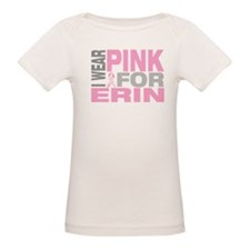 I wear pink for Erin Tee