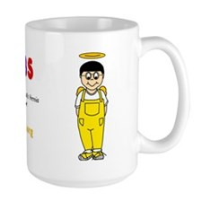 """Josiah"" Logo Large Coffee Mug"