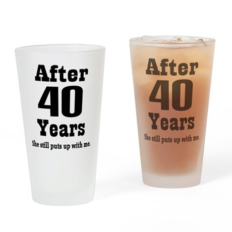 ... Anniversary Kitchen & Entertaining > 40th Anniversary Funny Quote
