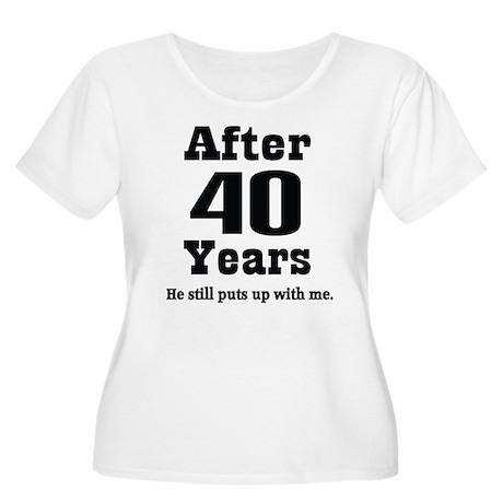 ... anniversary womens 40th anniversary funny quote women s plus size sco