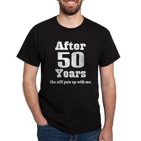 50th Anniversary Funny Quote Dark T-Shirt
