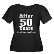 50th Anniversary Funny Quote Women's Plus Size Sco