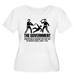 The Government Women's Plus Size Scoop Neck T-Shir