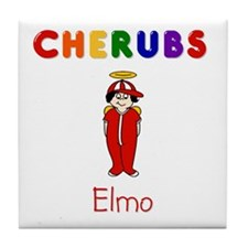 """Elmo"" Logo Ceramic Tile / Coaster"