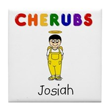 """Josiah"" Logo Ceramic Tile / Coaster"