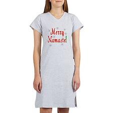 Namaste Christmas Women's Nightshirt