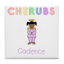 """Cadence"" Logo Ceramic Tile / Coaster"