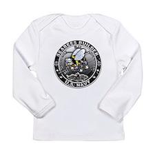 USN Seabees Builder BU Long Sleeve Infant T-Shirt