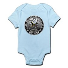 USN Seabees Builder BU Infant Bodysuit