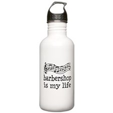 Barbershop Is My Life Gift Water Bottle