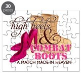 High Heels &amp; Combat Boots (D Puzzle